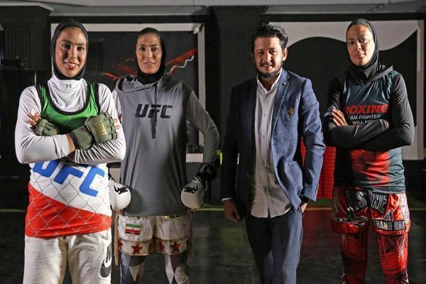 شوک به ورزش ایران؛ خواهران منصوریان در MMA (عکس)
