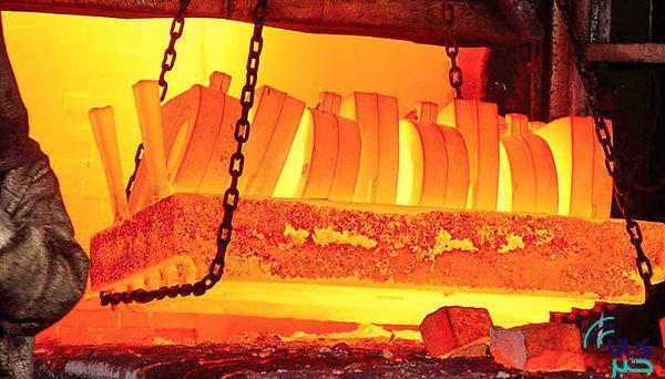 عبور فراوری فولاد و محصولات فولادی از مرز 20 میلیون تن در پنج ماهه نخست سال جاری